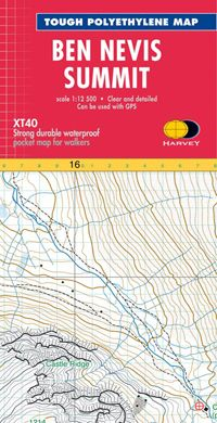 XT40 Summit Map Ben Nevis