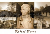 Robert Burns Composite Postcard (HA6)