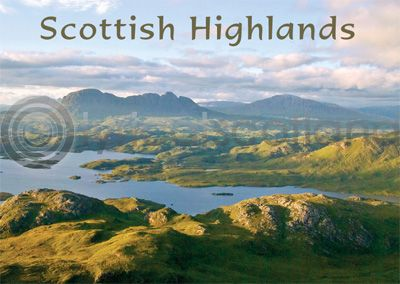 Scottish Highlands - Suilven, Assynt Magnet (H)