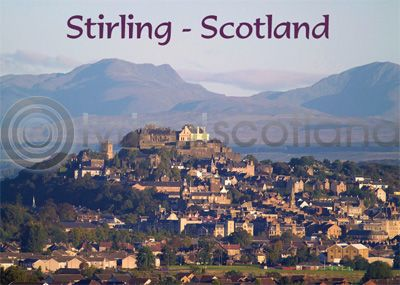 Stirling - Scotland Magnet (H)