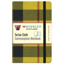 Tartan Cloth Notebook: MacLeod of Lewis