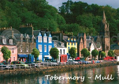 Tobermory Waterfront - Mull Magnet (H)