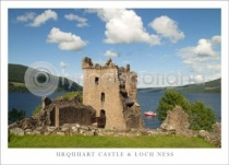 Urquhart Castle & Loch Ness Close Up (HA6)