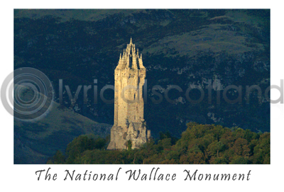 William Wallace Monument Postcard (HA6)